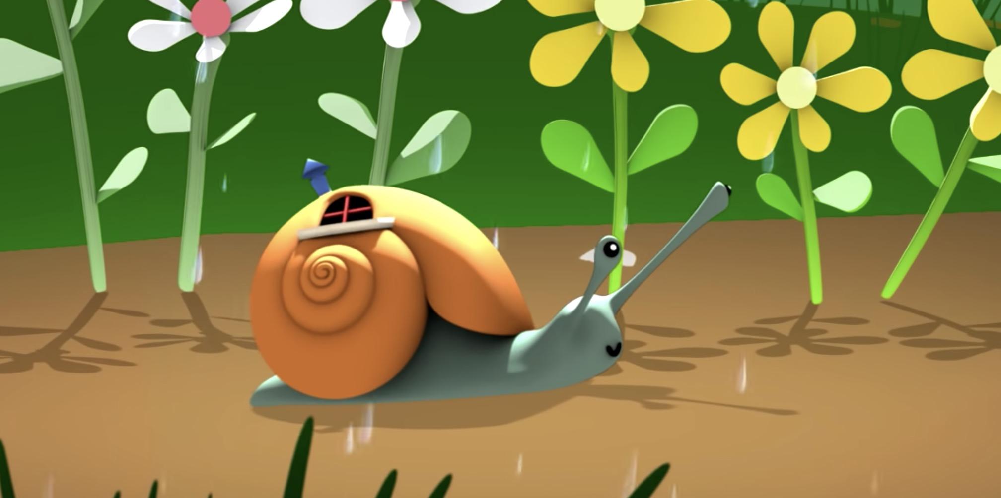 Le petit escargot et la comptine pour bébé